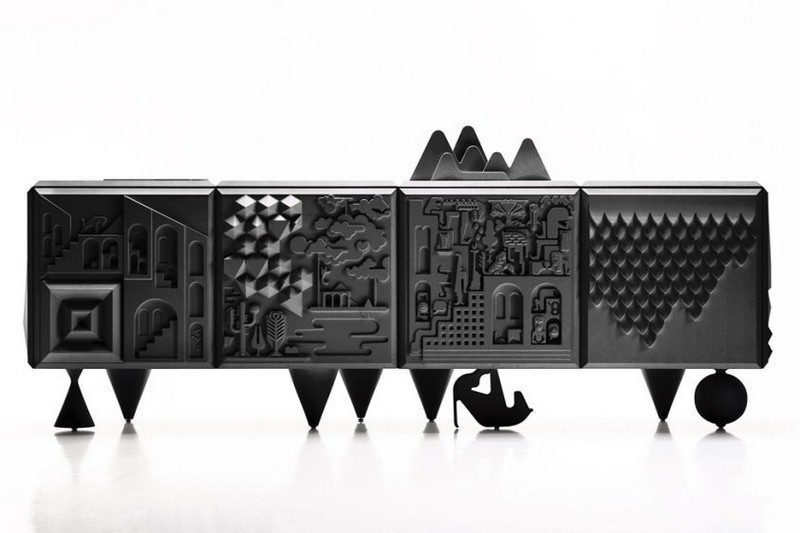 buffets and sideboard 30 Original and Creative Buffets and Sideboard Designs 25 Original and Creative buffets TOUT VA BIEN by BD BARCELONA DESIGN