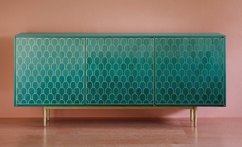 Greenery And Turquoise  design trends Sideboard Design Trends For This Fall/Winter Sideboard Design Trends For This FallWinter 7