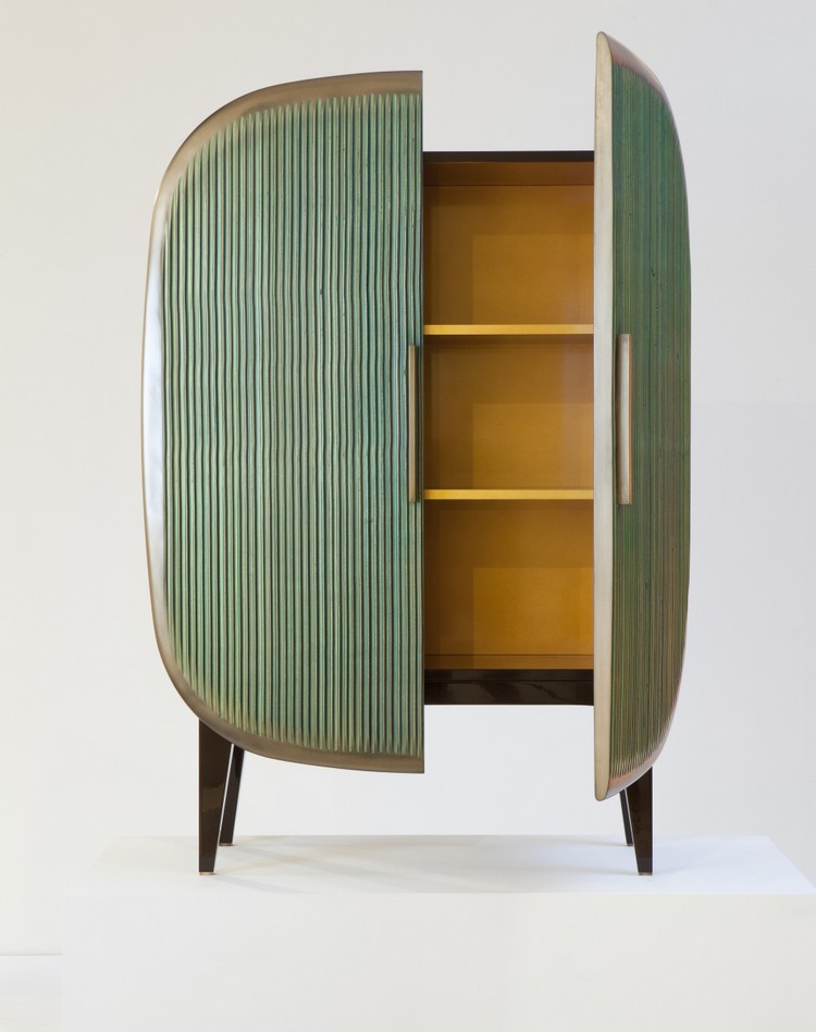 Art Deco Cabinets by Patrick Naggar (9) patrick naggar Art Deco Cabinets by Patrick Naggar Art Deco Cabinets by Patrick Naggar 9