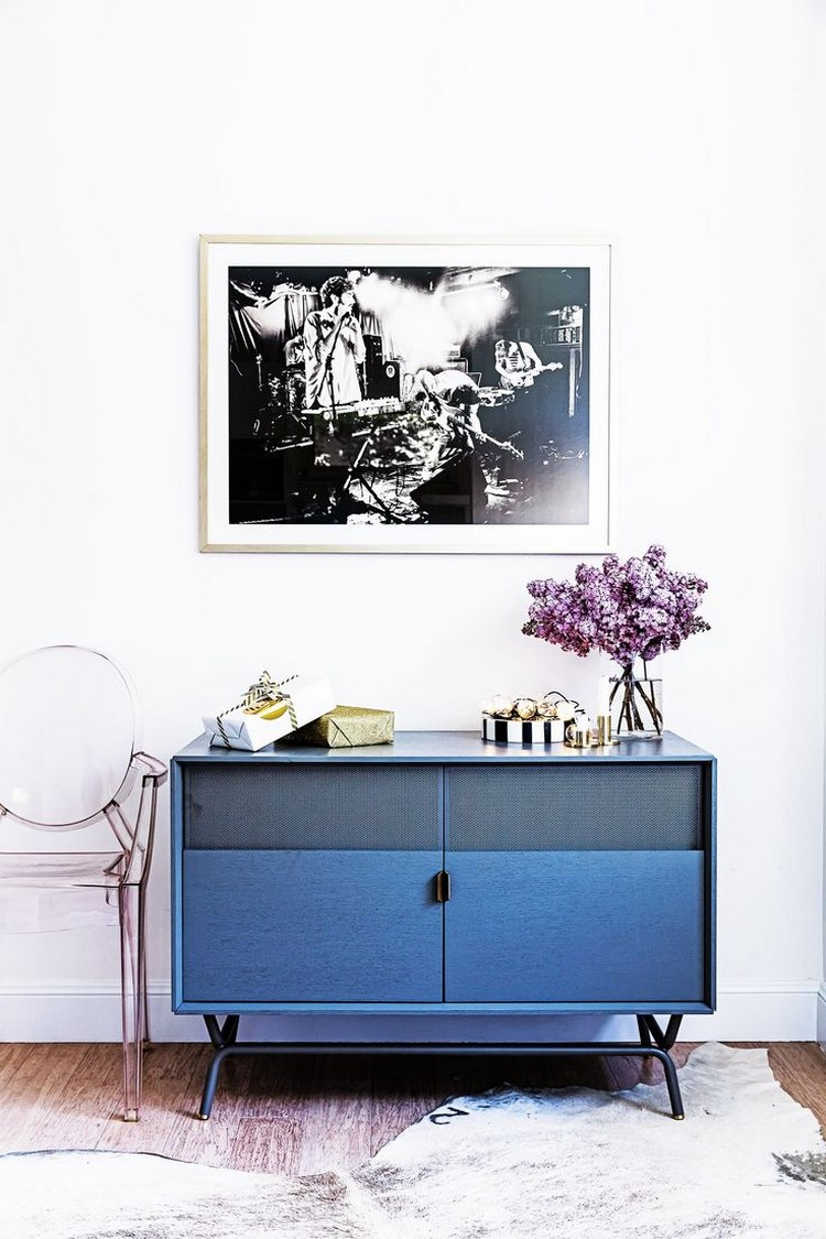 Buffets and Cabinets for This Spring navy blue Navy Blue Sideboards and Cabinets For a Modern Home Navy Blue Buffets and Cabinets for This Spring 5