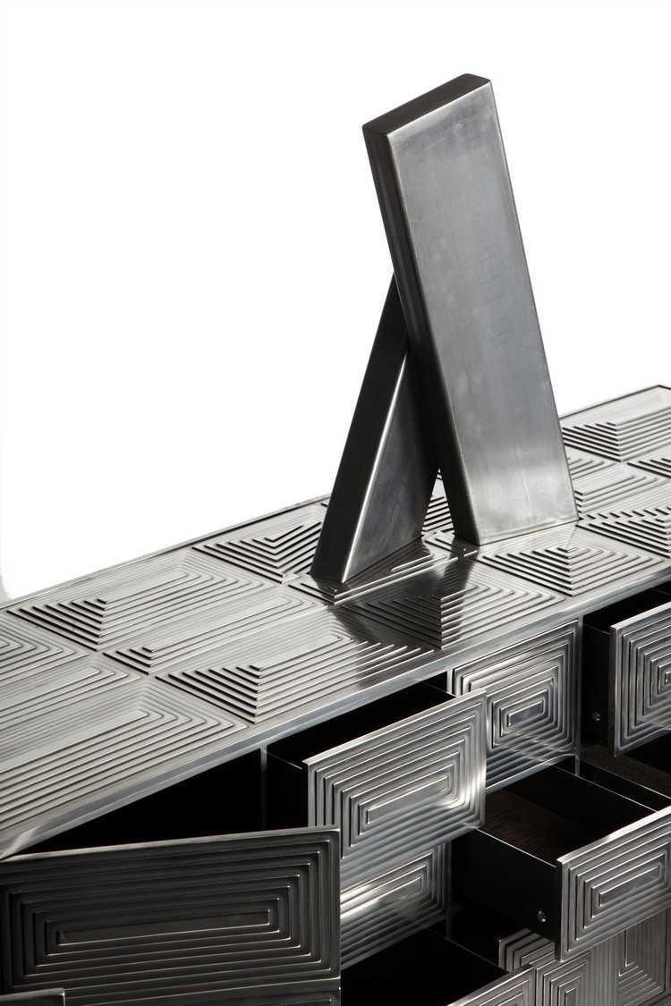 Sculptural Buffets and Cabinets by Erwan Boulloud (10)