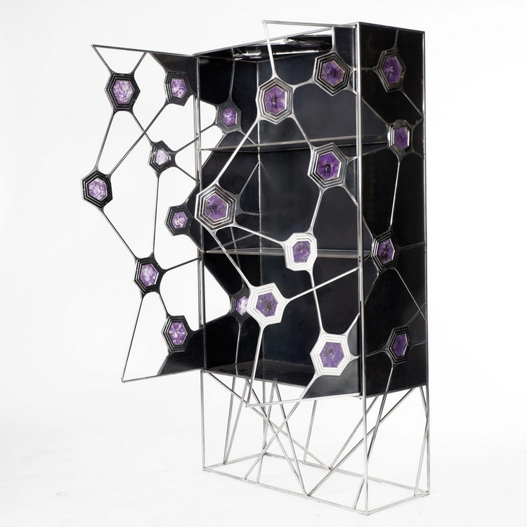Sculptural Buffets and Cabinets by Erwan Boulloud (13)