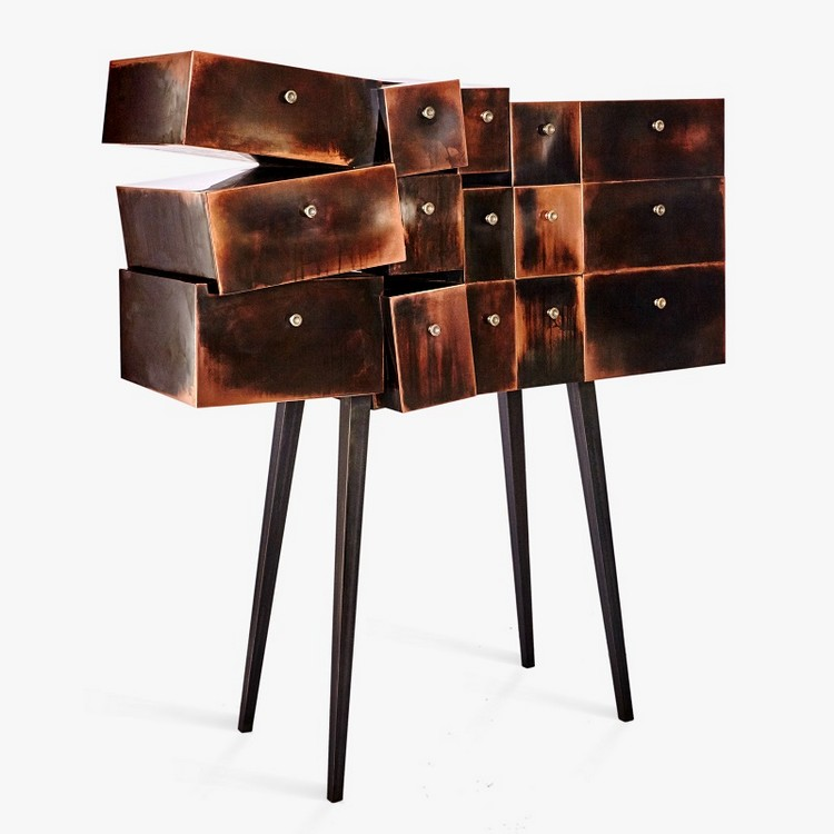 Sculptural Buffets and Cabinets by Erwan Boulloud (14)