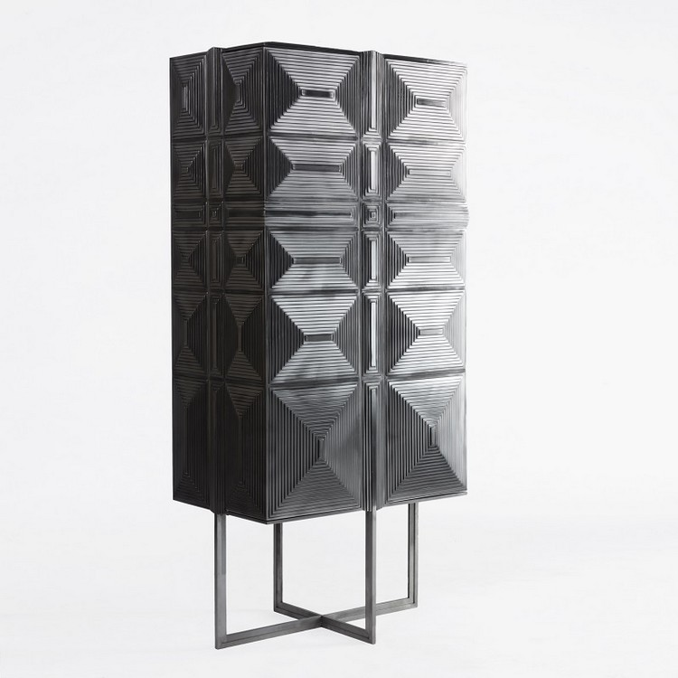 Sculptural Buffets and Cabinets by Erwan Boulloud (3)