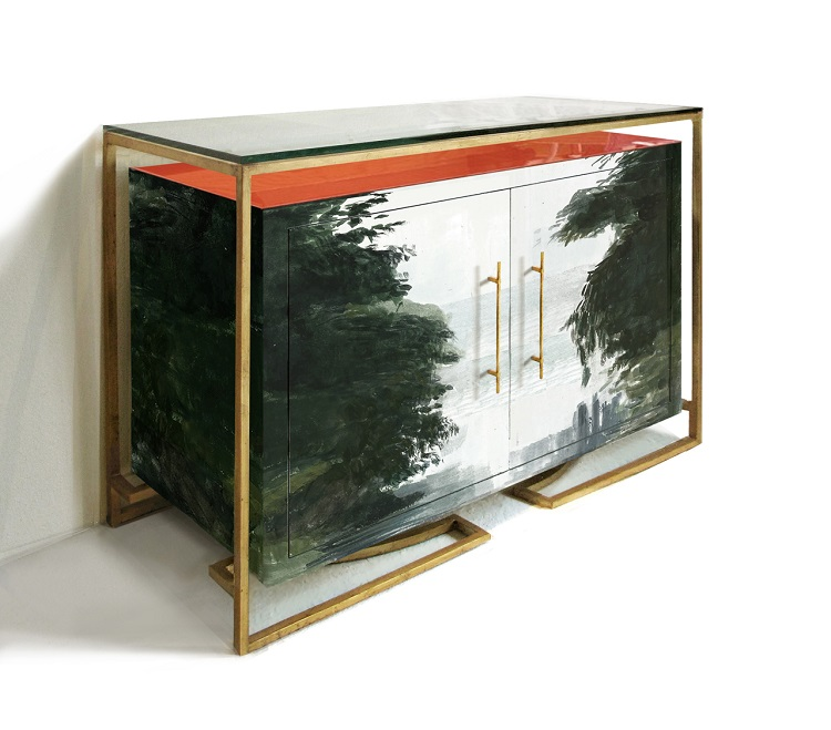 Hand Painted Buffets and Cabinets by Tamara Codor (2)