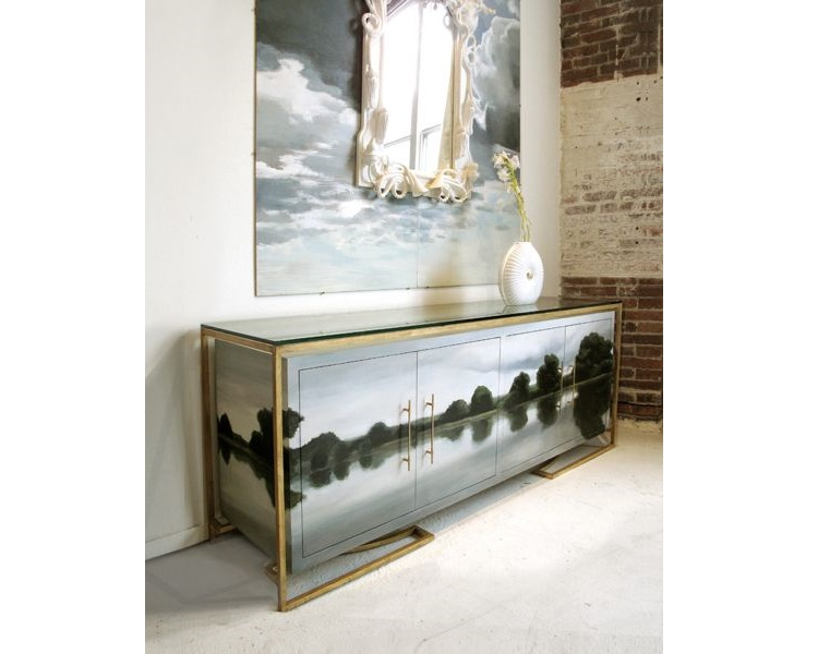 Hand Painted Buffets and Cabinets by Tamara Codor (5)