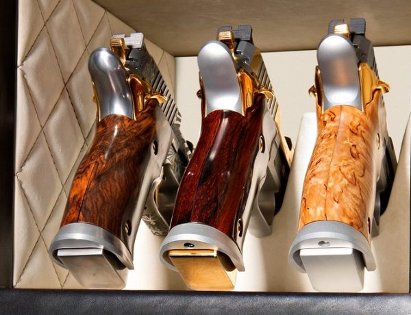 Luxury Safes The Best Gun Cabinet Design