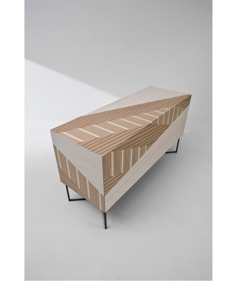 A Sideboard Inspired by Traditional Twill Fabric by Baroli Design Baroli Design A Sideboard Inspired by Traditional Twill Fabric by Baroli Design A Sideboard Inspired by Traditional Twill Fabric 2