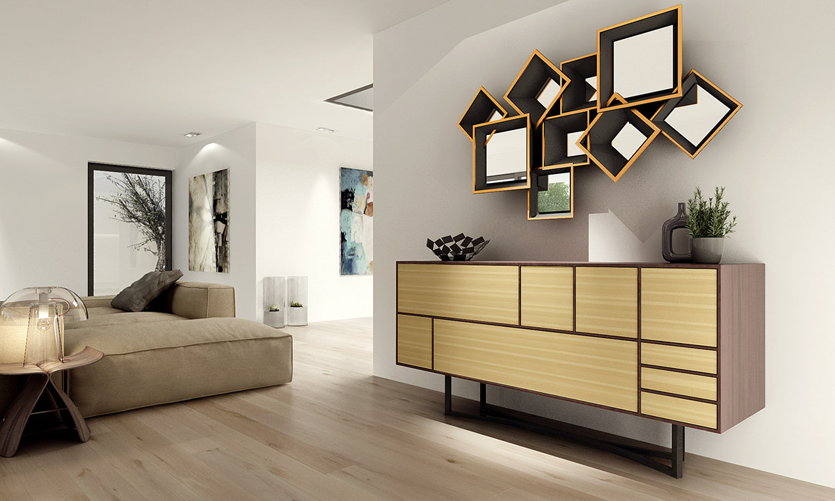 contemporary sideboards inspired by music. Black Bedroom Furniture Sets. Home Design Ideas