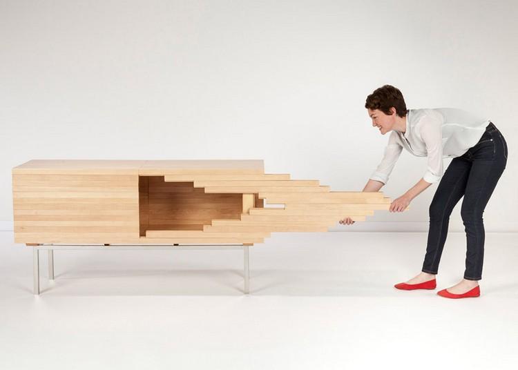 Explosion Cabinet By Sebastian Errazuriz Expands Using Sliding Joints