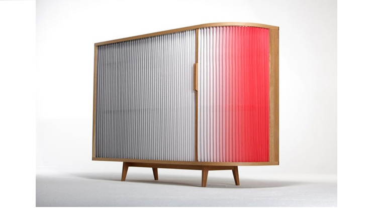 Anne Boenisch Design  Plissee Sideboard Plissee Sideboard by Anne Boenisch Plissee Sideboard by Anne Boenisch 1
