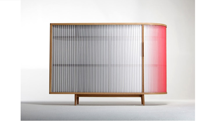 Plissee Sideboard by Anne Boenisch Plissee Sideboard Plissee Sideboard by Anne Boenisch Plissee Sideboard by Anne Boenisch 3