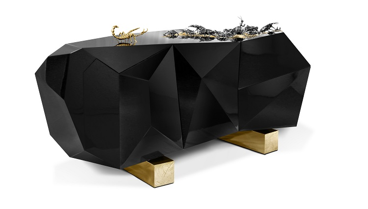 Sideboard by Boca do Lobo Inspired by Kafka metamorphosis Sideboard by Boca do Lobo Inspired by Kafka´s Metamorphosis Sideboard by Boca do Lobo Inspired by Kafka  s Metamorphosis 2