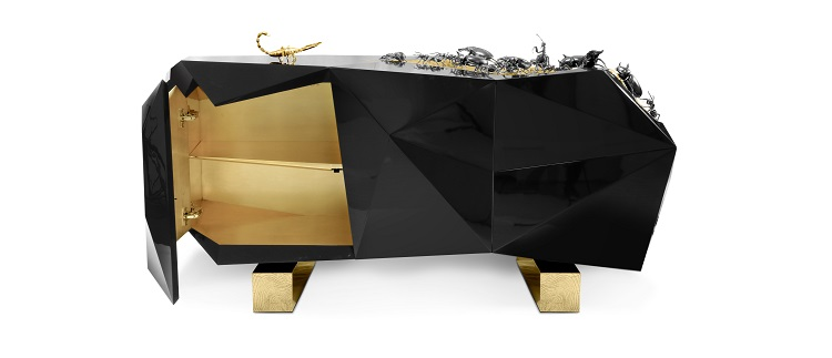 Sideboard by Boca do Lobo Inspired by Kafka metamorphosis Sideboard by Boca do Lobo Inspired by Kafka´s Metamorphosis Sideboard by Boca do Lobo Inspired by Kafka  s Metamorphosis 4