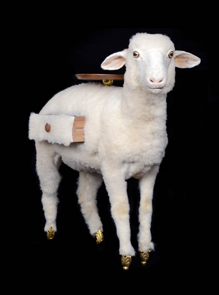 Taxidermy Sheep Cabinet Salvador Dalí Taxidermy Sheep Cabinet Joins Salvador Dalí Furniture Collection Taxidermy Sheep Cabinet Joins Salvador Dal   Furniture Collection 2