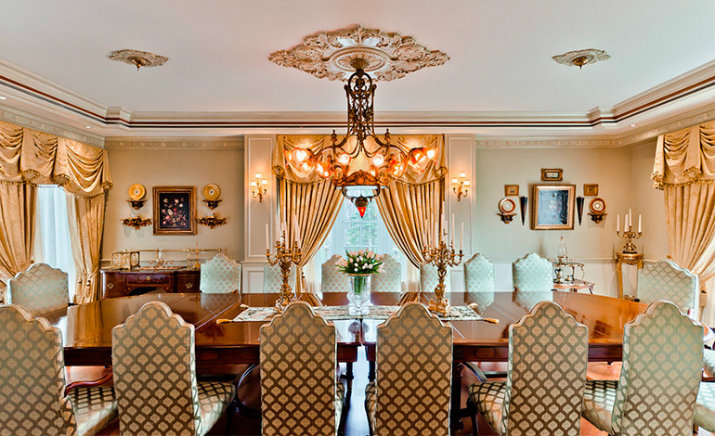 Celine Dion - Buffets & Cabinets buffets & cabinets Celebrity Dining Rooms – What Buffets and Cabinets They Choose? Celine Dion
