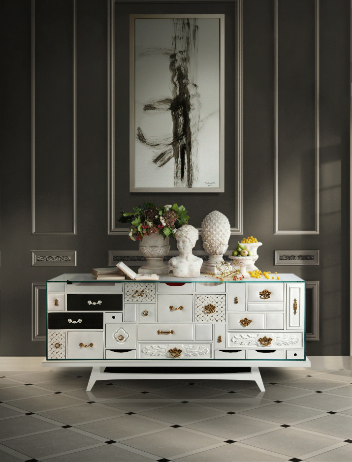 Mondrian White Best Buffet How To Choose the Best Buffet for Your Luxury Dining Room Mondrian White