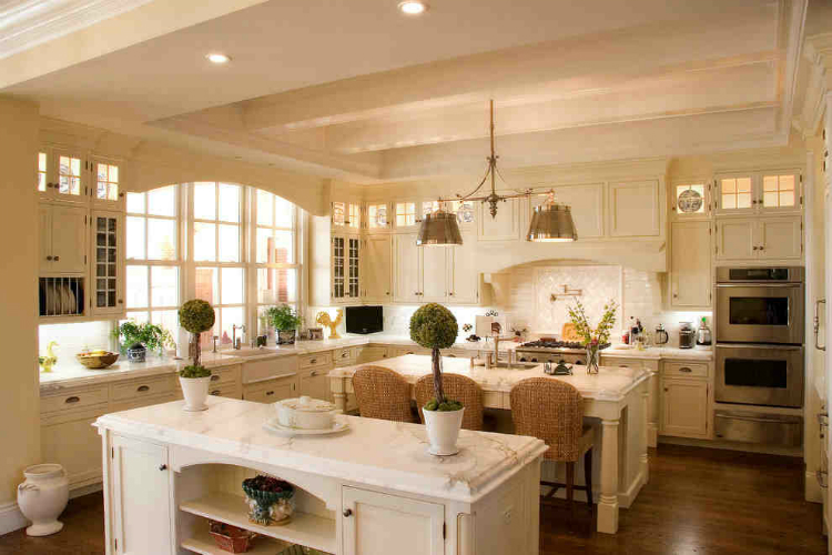 Luxurious Kitchen Village Architects AIA, Inc