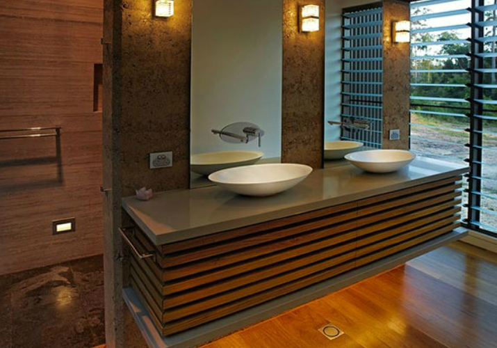 7 Relaxing Wooden Bathroom Cabinets