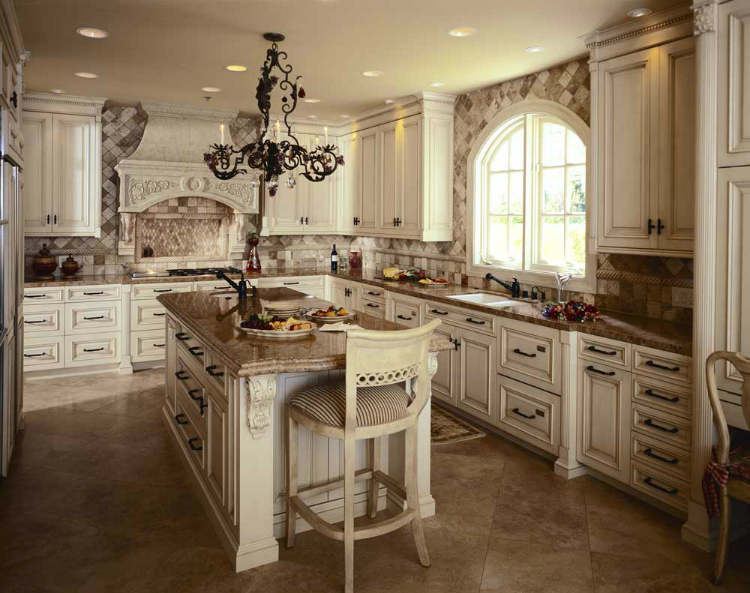 modern-traditional-kitchen-designs-new-in-interior-design- - 5 Antique Cabinets For Your Classic Kitchen