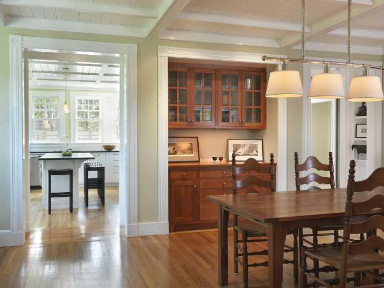 76e15a1e0edd19b2_5420 W618 H463 B0 P0 Traditional Dining Room Dining.  Stained Wood Built Ins ...
