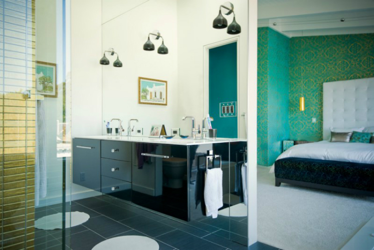 11-crown black cabinet ideas Best Black Cabinet Ideas For Luxury Bathrooms 11 crown 1