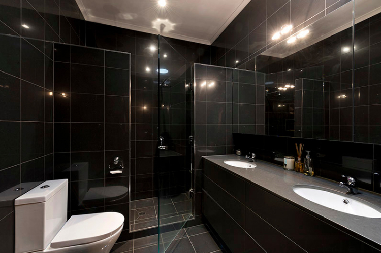 13-preston black cabinet ideas Best Black Cabinet Ideas For Luxury Bathrooms 13 preston