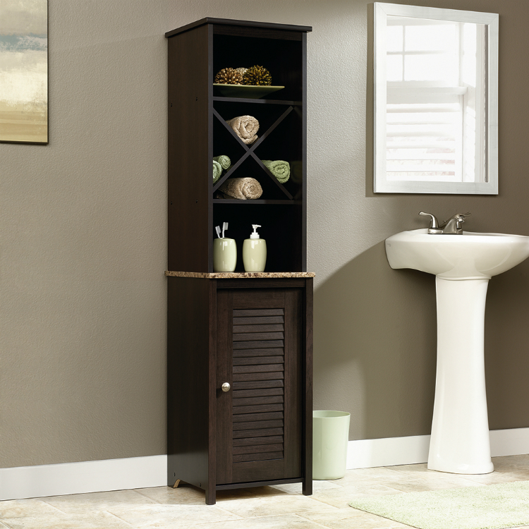 7-louver-style Wooden Cabinets Inspiring Wooden Cabinets For Your Luxury Bathroom 7 louver style