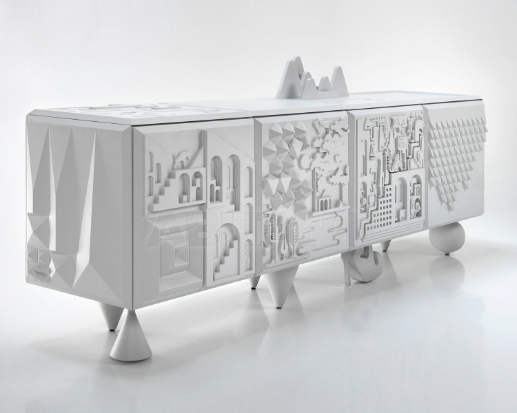 mdf-sideboard black and white buffets Best Black And White Buffets For You Modern Dining Room MDF sideboard