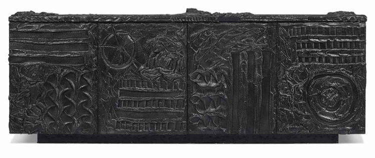 a_bronzed_epoxy_resin_and_slate_sideboard_by_paul_evans_1970_d5838438g buffets and cabinets Best Buffets And Cabinets Ever Auctioned By Christie's a bronzed epoxy resin and slate sideboard by paul evans 1970 d5838438g