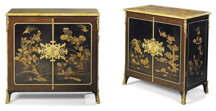 a_pair_of_george_iii_ormolu-mounted_black_and_gilt_lacquer_cabinets_th_d6036845g buffets and cabinets Best Buffets And Cabinets Ever Auctioned By Christie's a pair of george iii ormolu mounted black and gilt lacquer cabinets th d6036845g