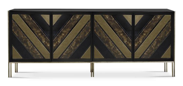 opium-cabinet-1 wooden details Vintage Cabinet Design With Wooden Details opium cabinet 1