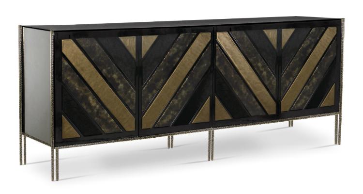 opium-cabinet-2 wooden details Vintage Cabinet Design With Wooden Details opium cabinet 2
