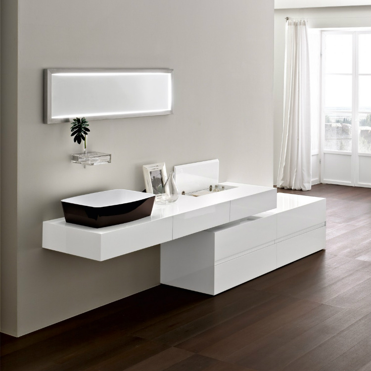 19-white-vanity-unit luxury bathroom Perfect Italian Luxury Bathroom Cabinet Design 19 White vanity unit