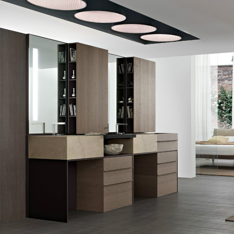 28-modern-vanity-units luxury bathroom Perfect Italian Luxury Bathroom Cabinet Design 28 Modern vanity units