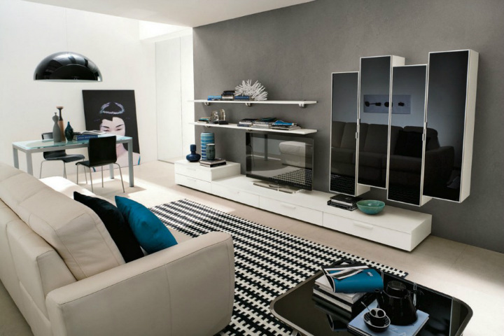 tv-cabinets-3 wall cabinets 10 Stunning Living Room Wall Cabinets For Contemporary Homes TV Cabinets 3