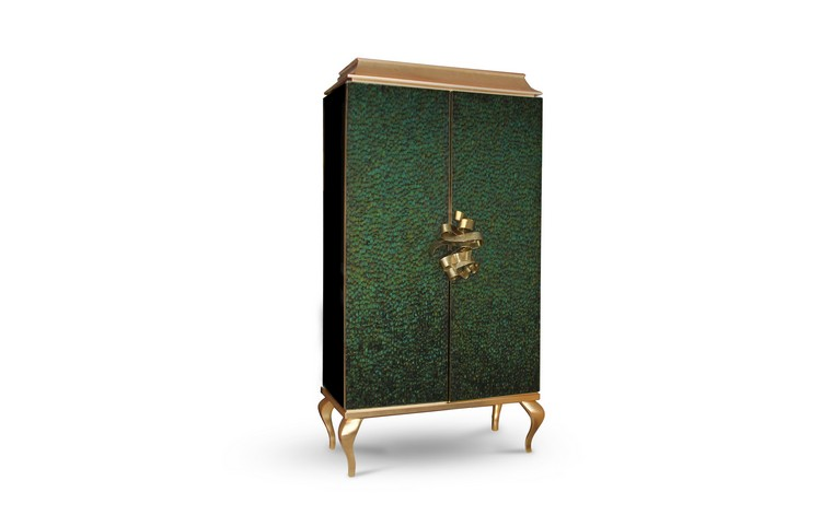 Divine Cabinet by Koket Boca do Lobo's E-Book Buffets and Cabinets presents the new Boca do Lobo's E-Books divine armoire 1