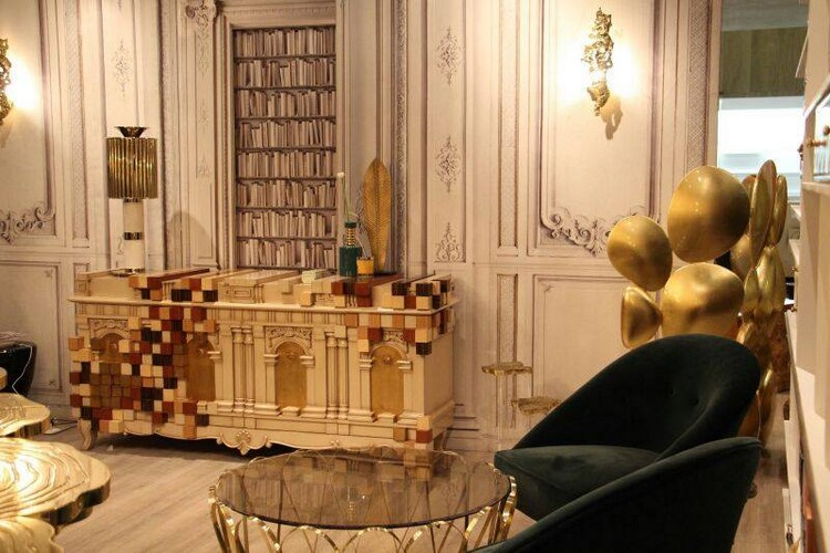Maison et Objet maison et objet Contemporary Buffets and Cabinets Will Inspire You At Maison et Objet Boca do Lobo stand at Maison et Objet 2016