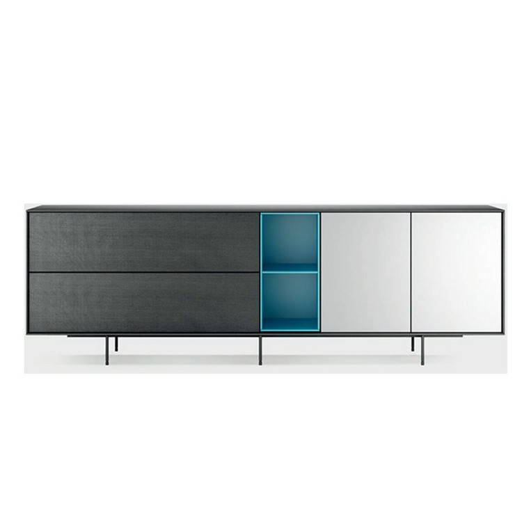 buffets and cabinets Minimalist Buffets and Cabinets for a Scandinavian Interior Design Tu   Console AURA C140 01