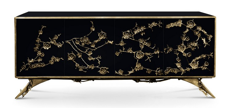 buffets and cabinets Say Hello to 2017 With Glamorous Buffets and Cabinets spellbound cabinet 1