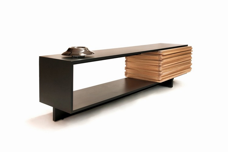 buffets and cabinets Minimalist Buffets and Cabinets for a Scandinavian Interior Design wooden sideboard Hector Esrawe 10