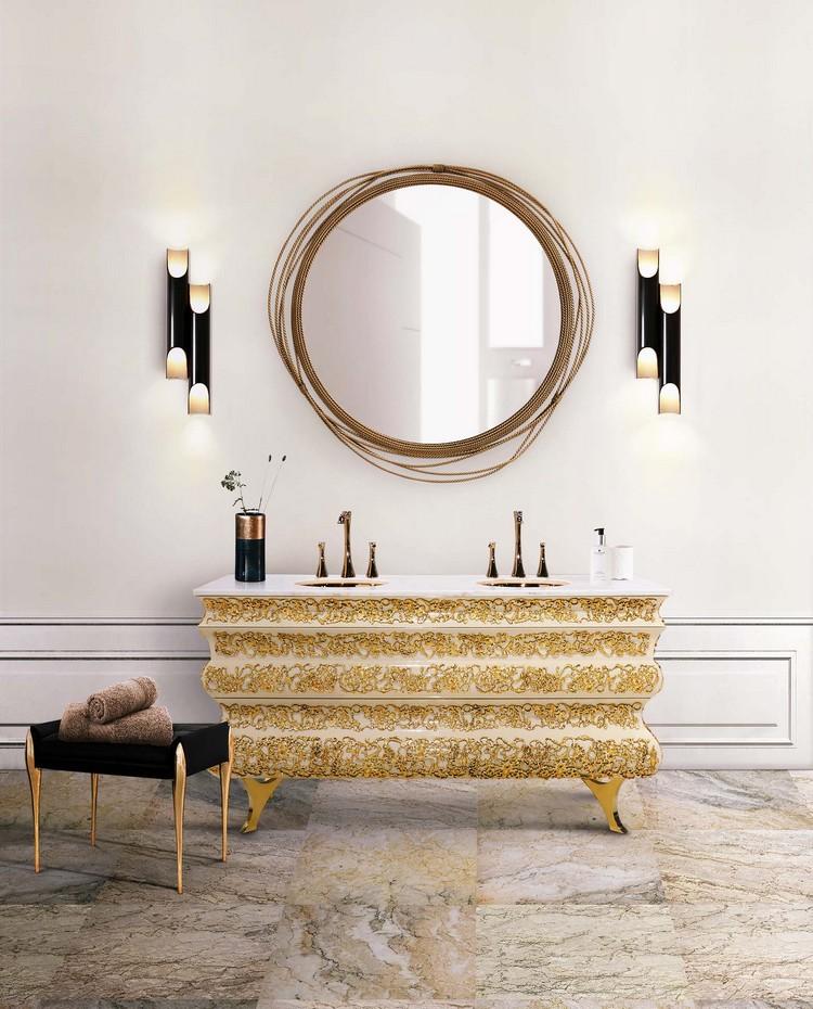 Cabinet Design cabinet design Elegant Cabinet Design  for a Luxurious Bathroom 17 crochet washbasin galliano wall lamp maison valentina 1 HR 1
