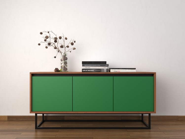 Spring Pantone's Greenery Welcome Spring with Exquisite Buffets LOVE IS EVERGREEN SIDEBOARD