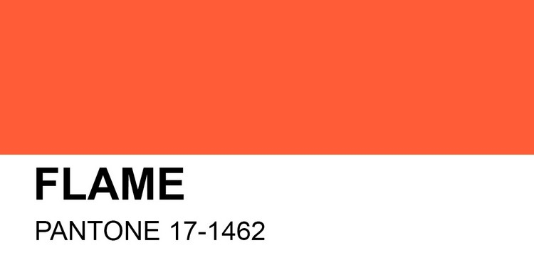 Buffets and Cabinets Buffets and Cabinets Color Trends Everyone Will Talk About This Spring PANTONE 17 1462 Flame
