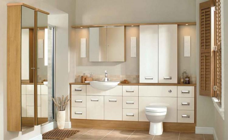 cabinet design Elegant Cabinet Design  for a Luxurious Bathroom RENZO VERSION1