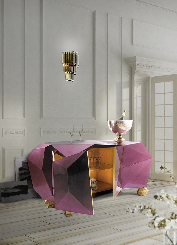Buffets Design Make A Statement With This Season's Hottest Buffets Design diamond 05