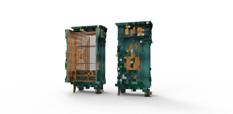 cabinet design Piccadilly Cabinet Design: a futurism design piccadilly ecletic green cabinet boca do lobo 05