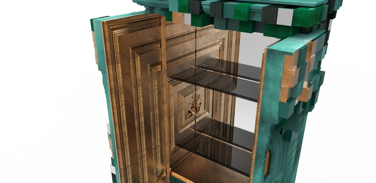 cabinet design Piccadilly Cabinet Design: a futurism design piccadilly ecletic green cabinet boca do lobo 06