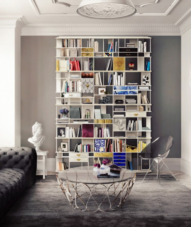 Inspirational Ebook To Improve Your Interior Design coleccionista custom bookcase shelf 02