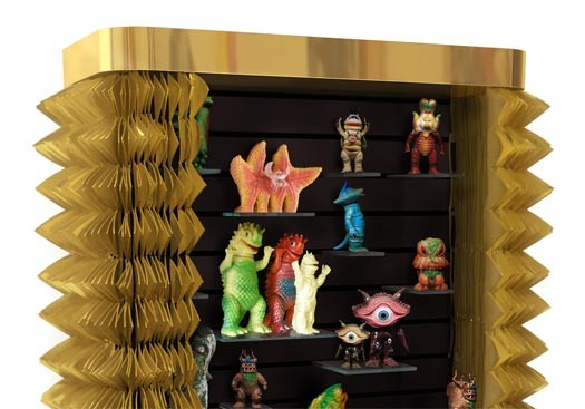 cabinet design Extravagant Maurizio Galante Cabinet Design collectors cabinet maurizio galante tal lancman thumb 525xauto 39934